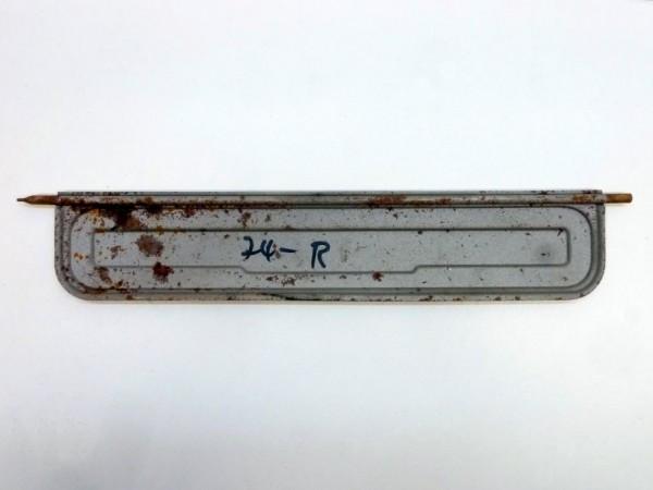 Klappe für Frischlufteinlaß, 3/77-, rechts, A3
