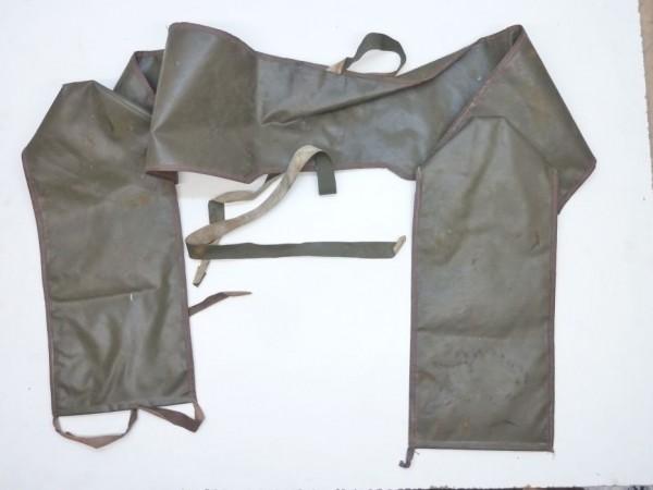 Abdeckung für Windschutzscheibenrahmen, Kunstleder, olivgrün, A3