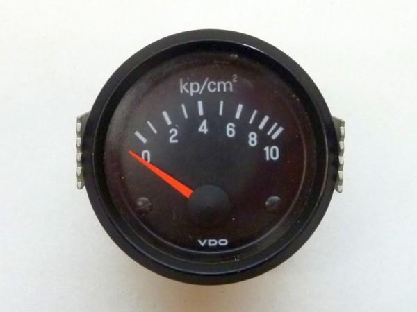 Öldruckanzeige, Endanzeige 10 bar, A3