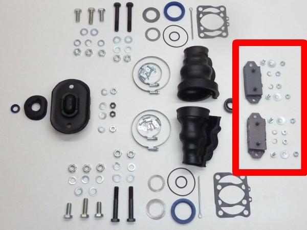 Gummimetallager für Getriebe, hinten, Paar, A1
