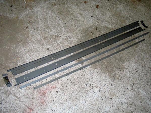 Rahmen für Windschutzscheibe, Unterteil, Bausatz, C1