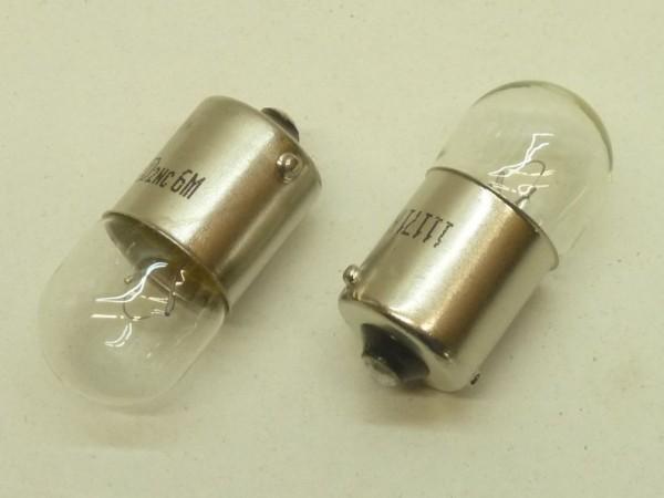 Glühlampen, Kugel, 12 V/5 W, Paar, A1