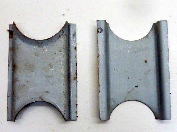 Reparaturblechsatz für Seitenschild am Vorderachskörper, C1
