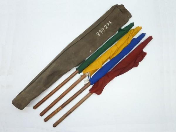 Flaggensatz, 4-teilig, mit Tasche, A3