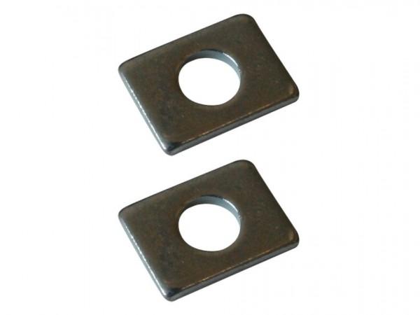 Unterlegplatten für Schrauben für untere Führung, Paar, B1