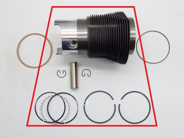 Kolben und Zylinder, 83x69 (1493 ccm), 4er-Satz, A1