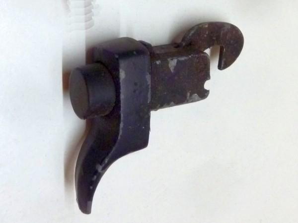 Schloß für Motorhaube/-klappe, nicht abschließbar, Metall/ lackiert, A3