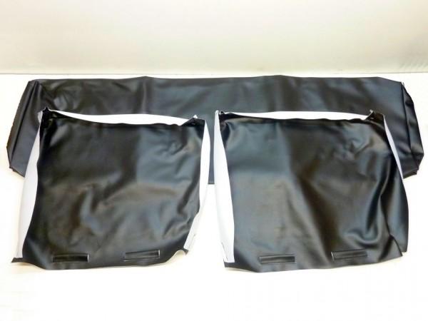 Bezüge für Rücksitze, schwarz, B1