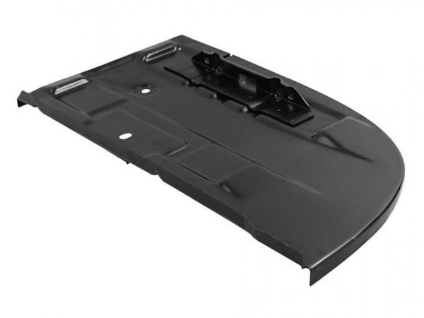 Abdeckblech im Motorraum, rechts, 8/71-, mit Batteriehalter, B1
