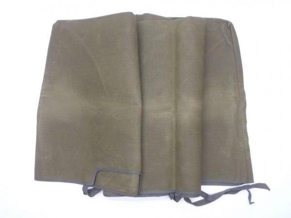 Abdeckung für Windschutzscheibe, Segeltuch, olivgrün, A2