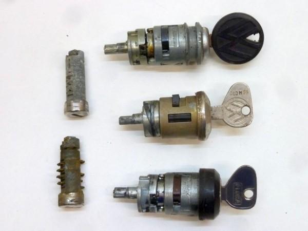 """Schließzylindersatz für Türen und Zündschloß, """"90°"""", A3"""