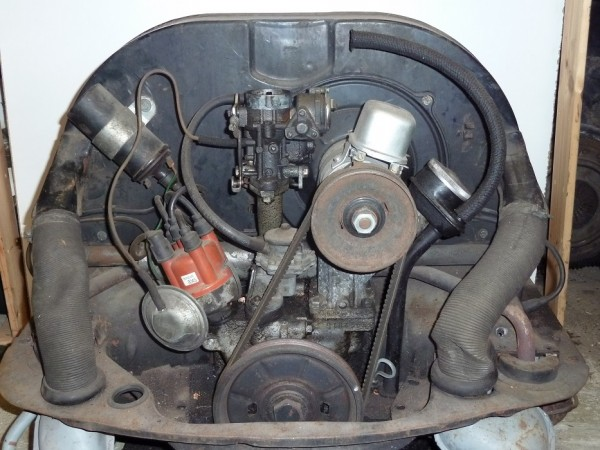 Komplettmotor, 1200/25 kW (34 PS), ab ca. 1966, A3