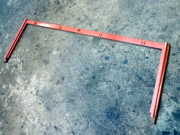 Rahmen für Windschutzscheibe, Oberteil, A3