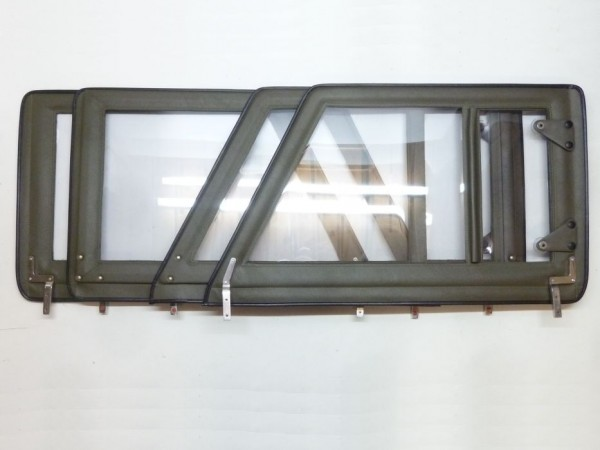 Steckfenster, oliv, 4er-Satz, B1