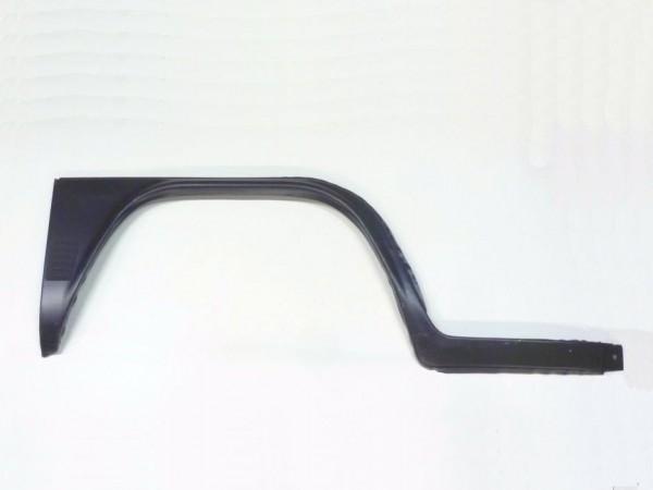 Reparaturblech f. Kniestück, außen rechts,mit Einstieg, 8/71-,C1