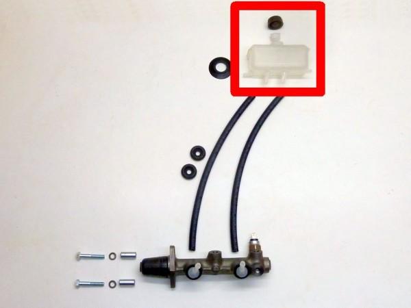 Bremsflüssigkeitsbehälter, Zweikreis, mit Sieb und Deckel, B1