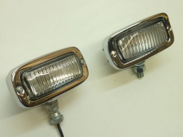 Rückfahrscheinwerfer, Metall/verchromt, X1