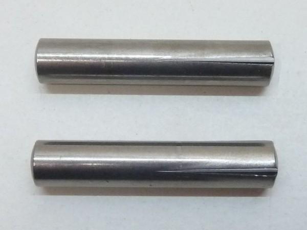 Paßkerbstifte, M10x50, Paar, A1