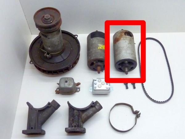 Lichtmaschine, Ø 105 mm, 38 A, m. Abdeckplatte+Riemenscheibe, A3