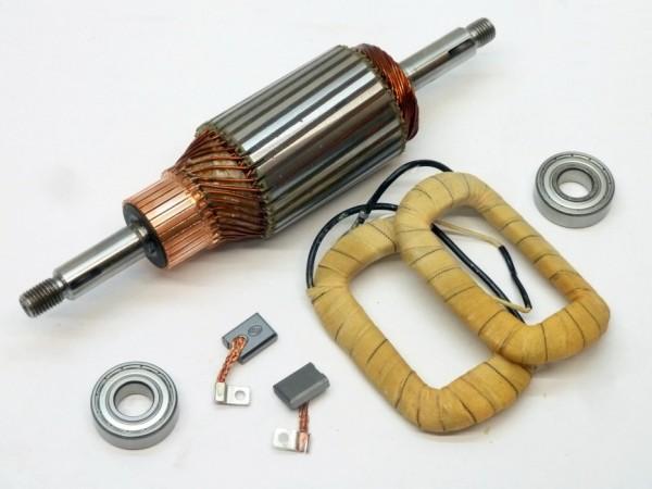 Umbausatz für Lichtmaschine von 6 V auf 12 V, Ø 90 mm, A1