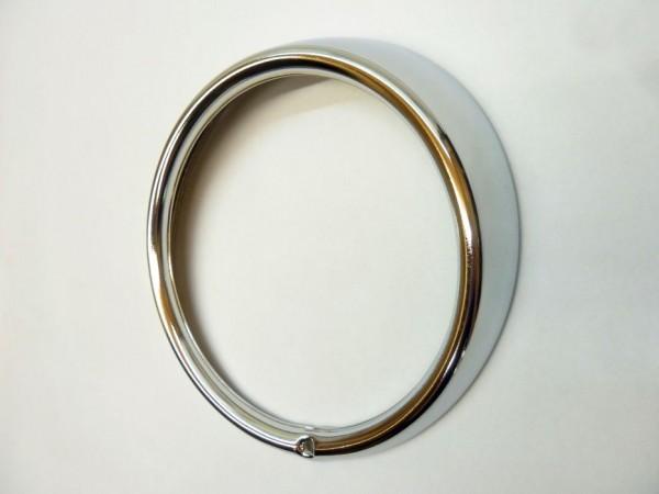 Zierring für Scheinwerfer, Stahl, verchromt, C1