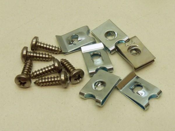 Anbausatz für Scheinwerfer, Paar, A1