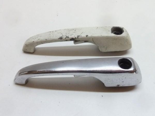 Türgriff, mit Loch für Schließzylinder, AX