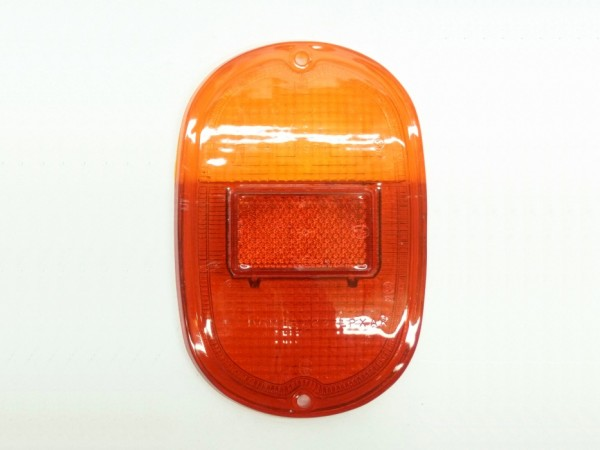 Rücklichtglas, orange/rot, ohne Chromeffekt-Rand, B1