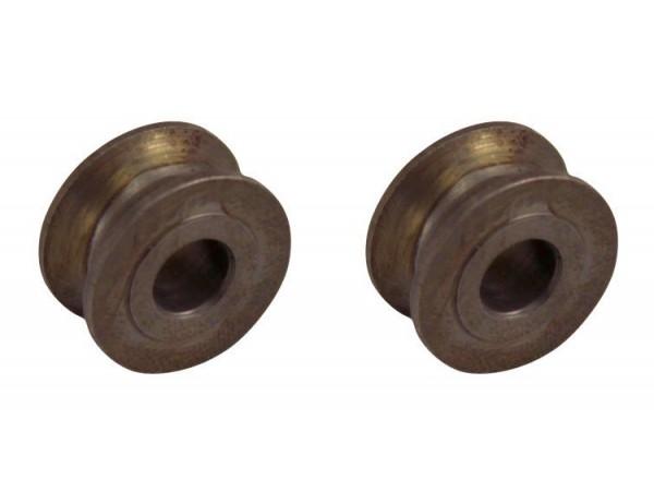 Rollen für Motor-/ Seitenklappenstütze, -10/73, Paar, B1