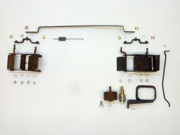 Kühlluftklappensatz für Gebläsekasten mit Abluftschacht, X3