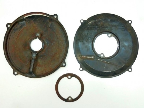 Abdeckplatte an Gebläsekasten, für 105 mm-LiMa außer 12 V/38 A, A3