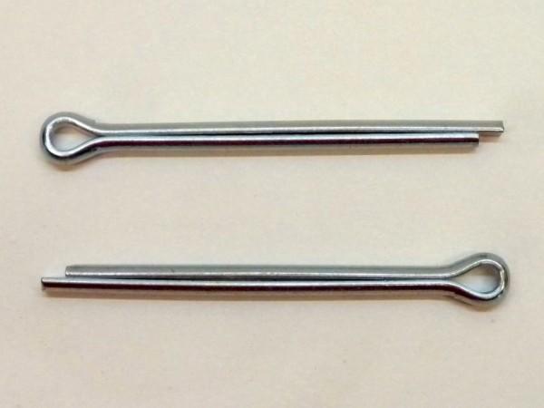 Splinte, 5 mm (z. B. für Hinterachskronenmutter), Paar, A1
