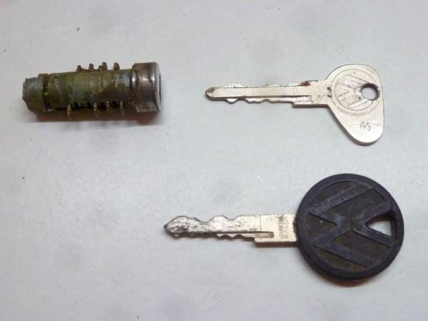 Schließzylinder für Türgriff, mit Schlüssel, A3