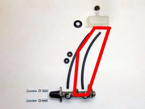 Gummischlauch, Ø 7 mm, bremsflüssigkeitsbeständig, A1