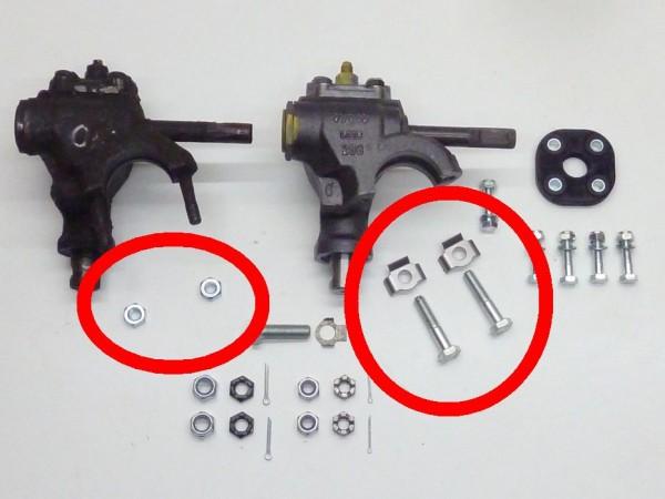 """Anbausatz für Lenkgetriebe, """"klein"""", A1"""
