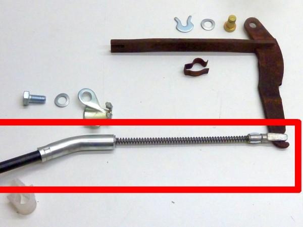 Handbremsseile,8/72- (Käfer/Karmann) bzw. 3/73- (Kübel),Paar,A1