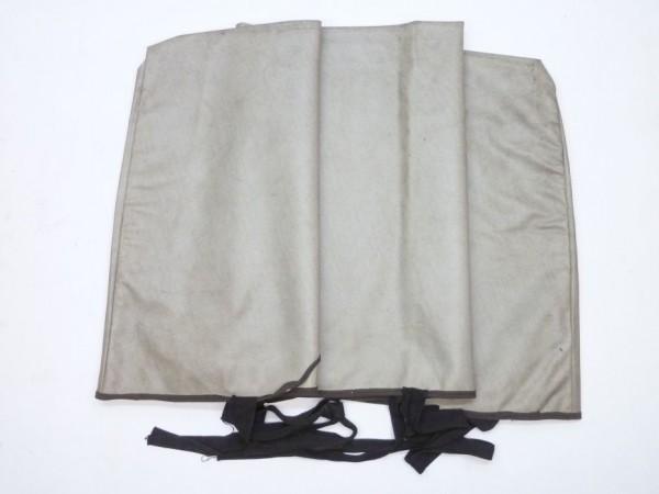 Abdeckung für Windschutzscheibe, Kunstleder, grau, A2