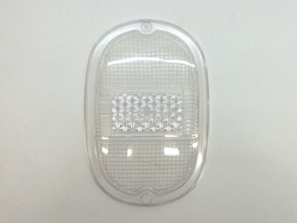 Rücklichtglas, weiß, ohne Chromeffekt-Rand, ohne Prüfzeichen, C1