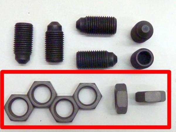 Kontermutter für Traghebel- und Federpaketschraube, A1