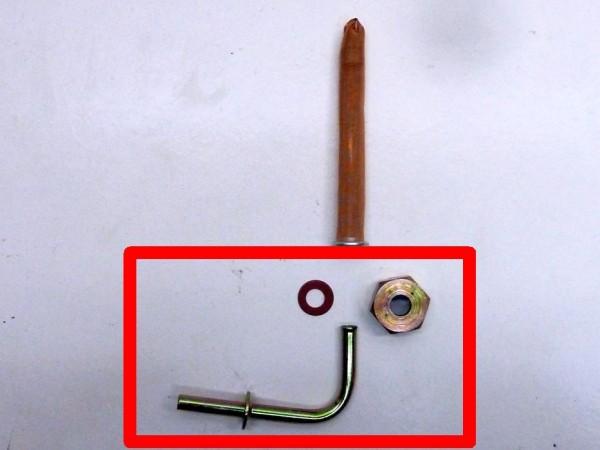 Ablaufrohr für Tank, 6 mm, B1