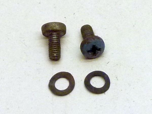 Anbausatz für Kabelschelle an Wischermotor, Edelstahl, A+1
