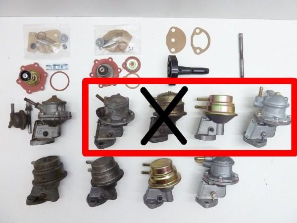 Benzinpumpe für 108 mm-Stößel, C1