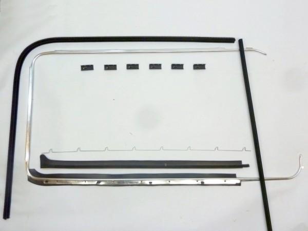 Dichtsatz für Türscheibe, rechts, A1