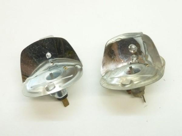 Lampenträger mit Reflektor, mit Masseanschluß, XX