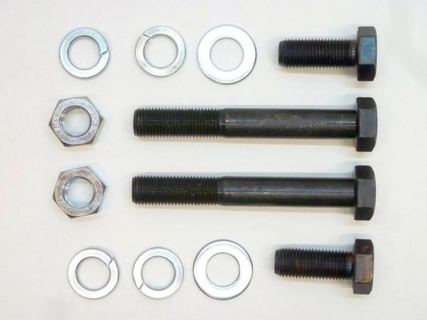 Anbausatz für Federstrebe und Lagerflansch an Achslenker, A1