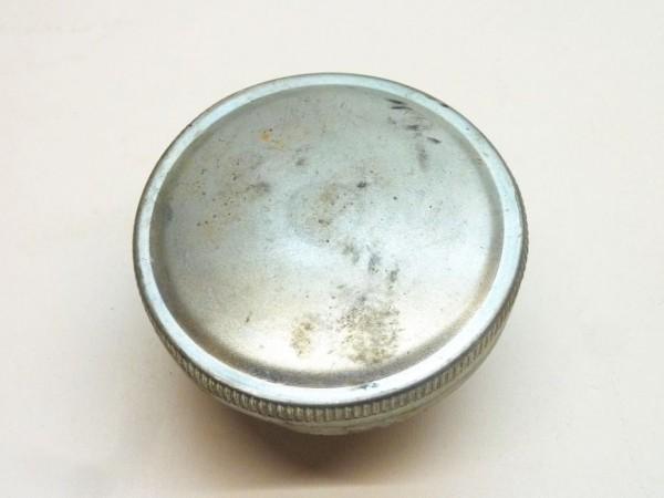 Tankdeckel, Ø 70 mm, silbern, ohne VW-Zeichen, B3