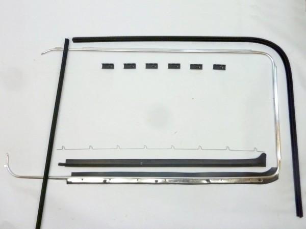 Dichtsatz für Türscheibe, links, C1