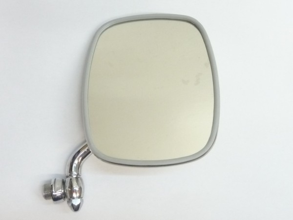 Außenspiegel, rechts, kurz, verchromt, A1/NOS