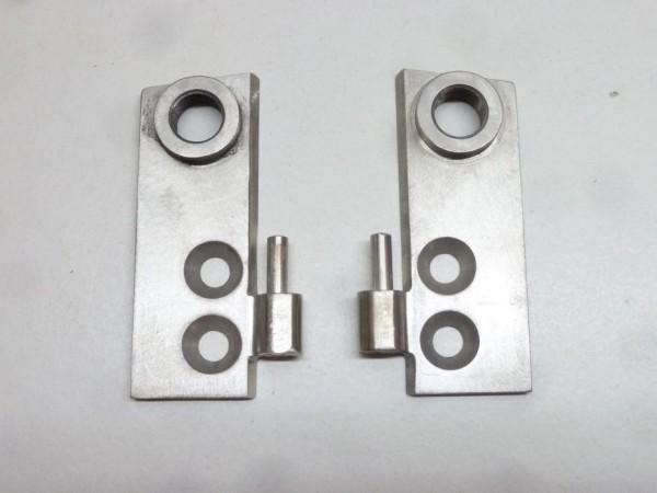 Türscharnierhälften, mit Aufnahme für Außenspiegel, Paar, B1