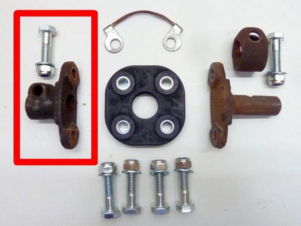 Flansch für Hardyscheibe, am Lenkgetriebe, A3